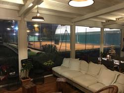salottino in veranda