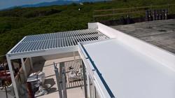 tettoia fissa coibentata alluminio