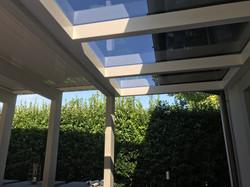 Tettoia-alluminio-vetro
