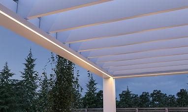 QUATTRO STAGIONI Pergolato serie Bioclimatic Linea alluminio