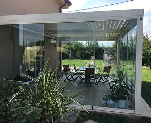 Serra solare veranda