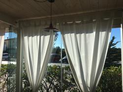 Veranda fissa in legno