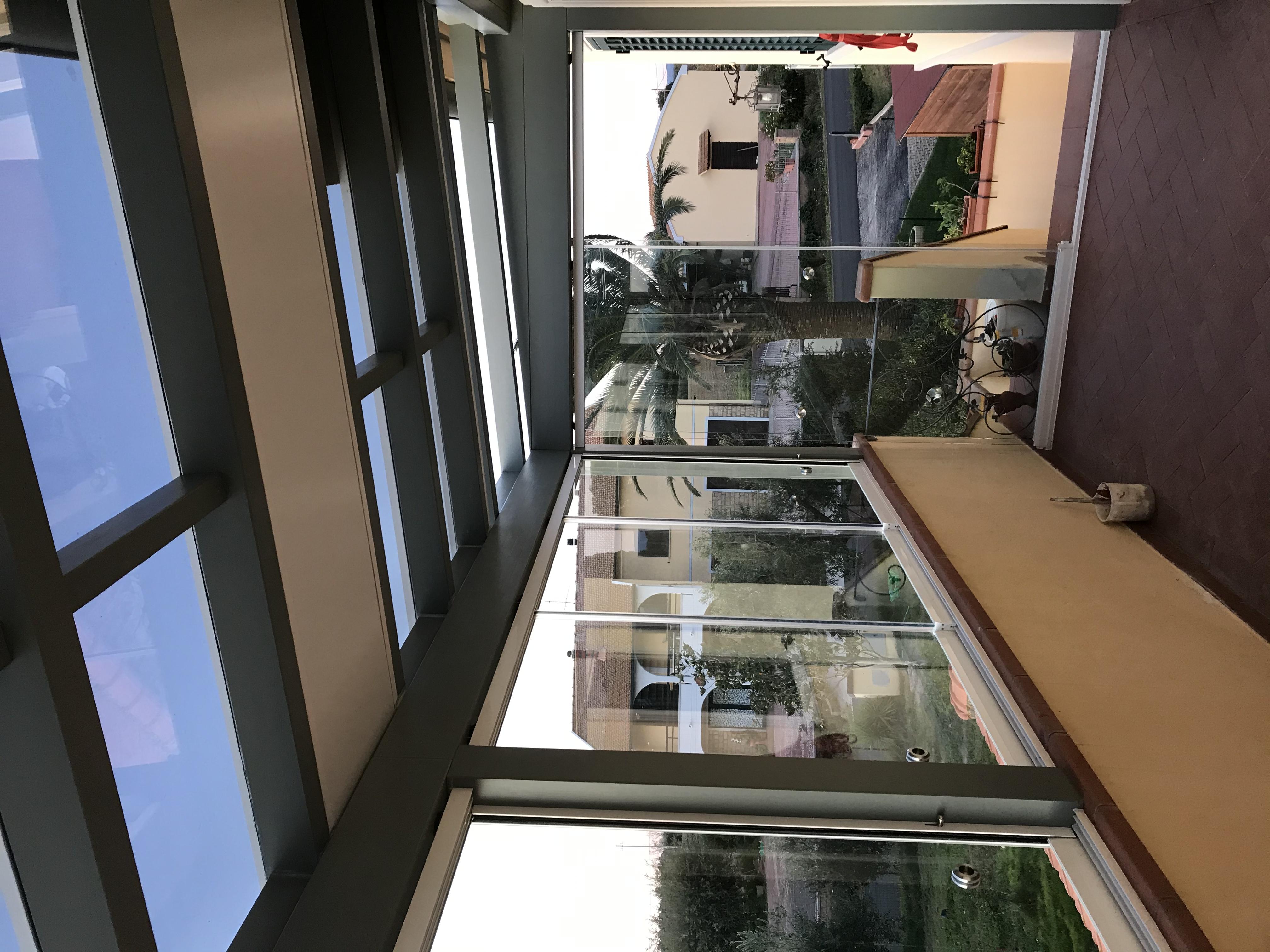Veranda su terrazzo