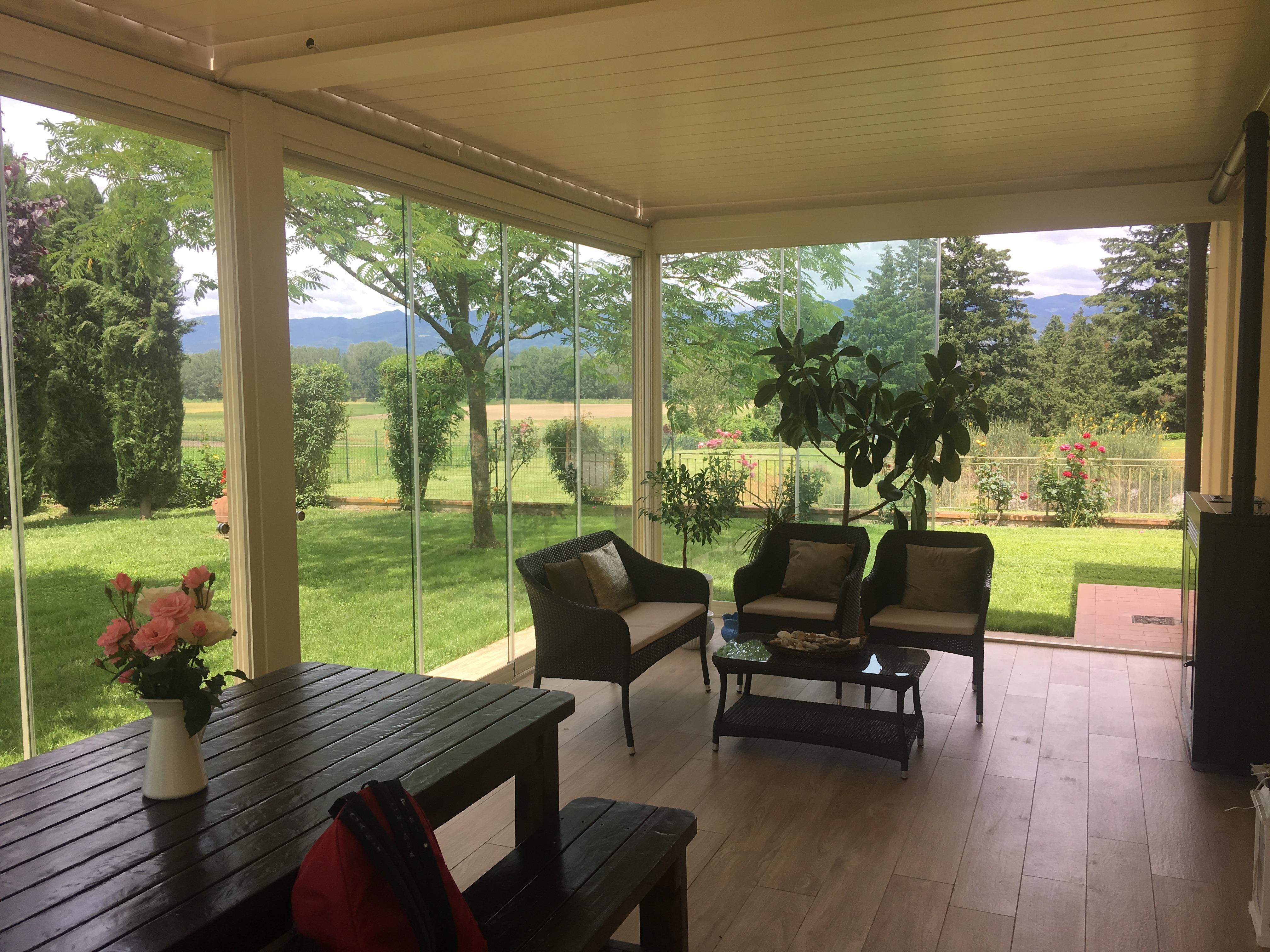 Veranda d'estate