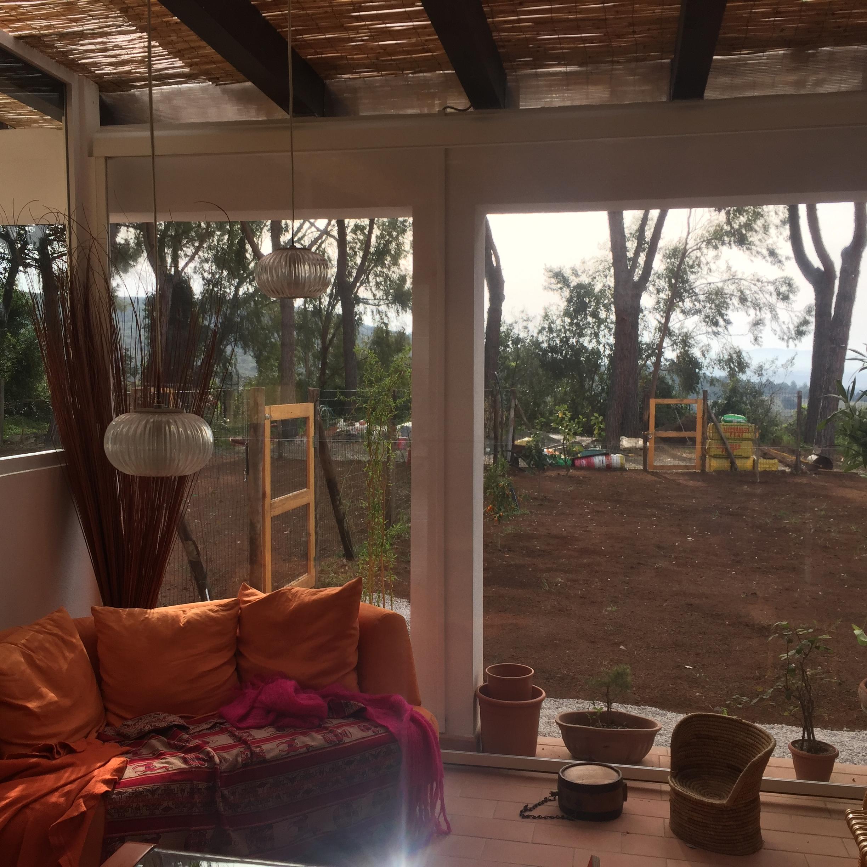 pergolato veranda giardino