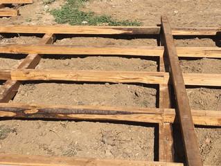Livorno: piattaforma in legno per esterno