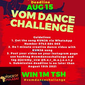 Dance Challenge Begins Today