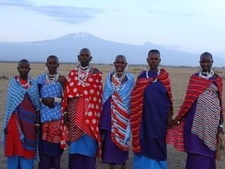 Local Maasai women in Ormelili Village