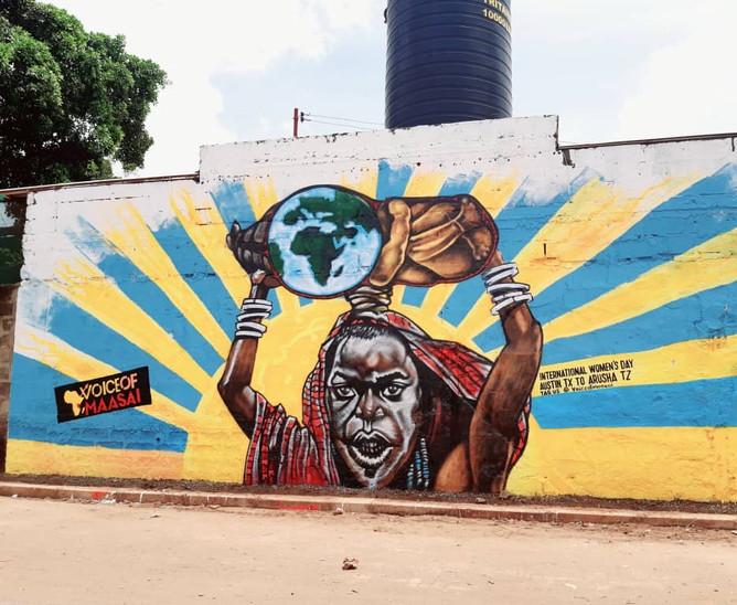VOM Mural in Arusha