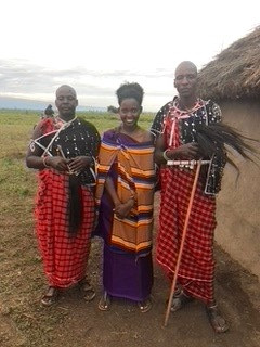 Massai ceremony in Ormelili Village
