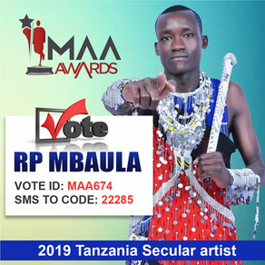 RP Mbaula Nominated for Best Secular Artist