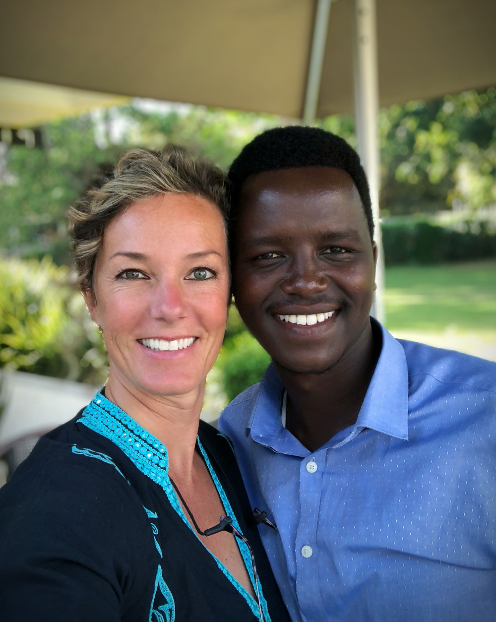 Jessey and Mokia first meeting in Arusha, September 2018.