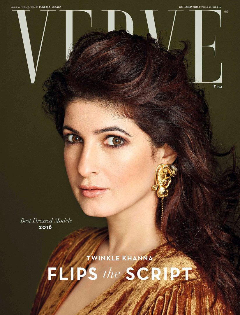 Verve Cover X Twinkle Khanna _ Oct 2018.