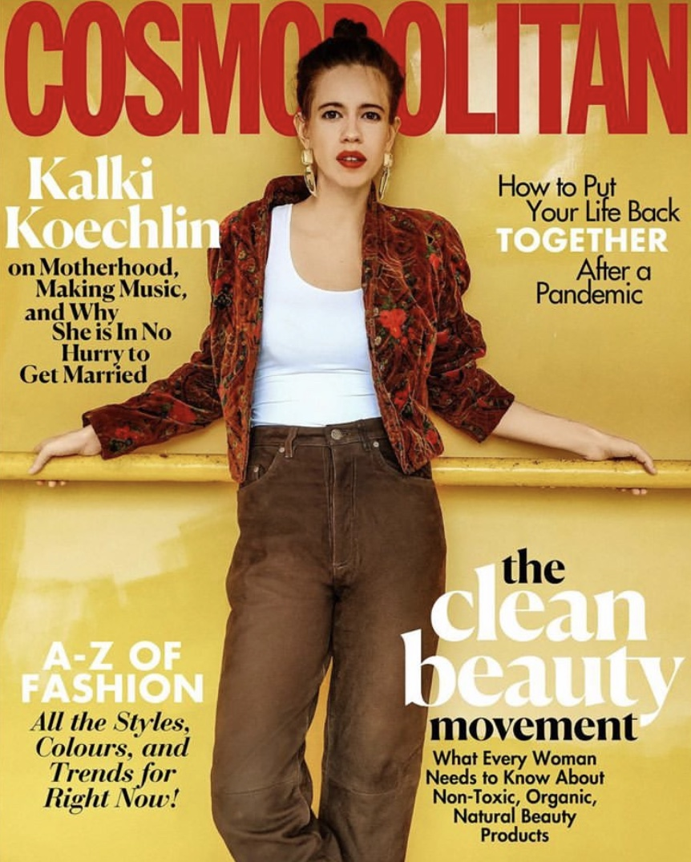 Cosmo August Cover  - Kalki K.1