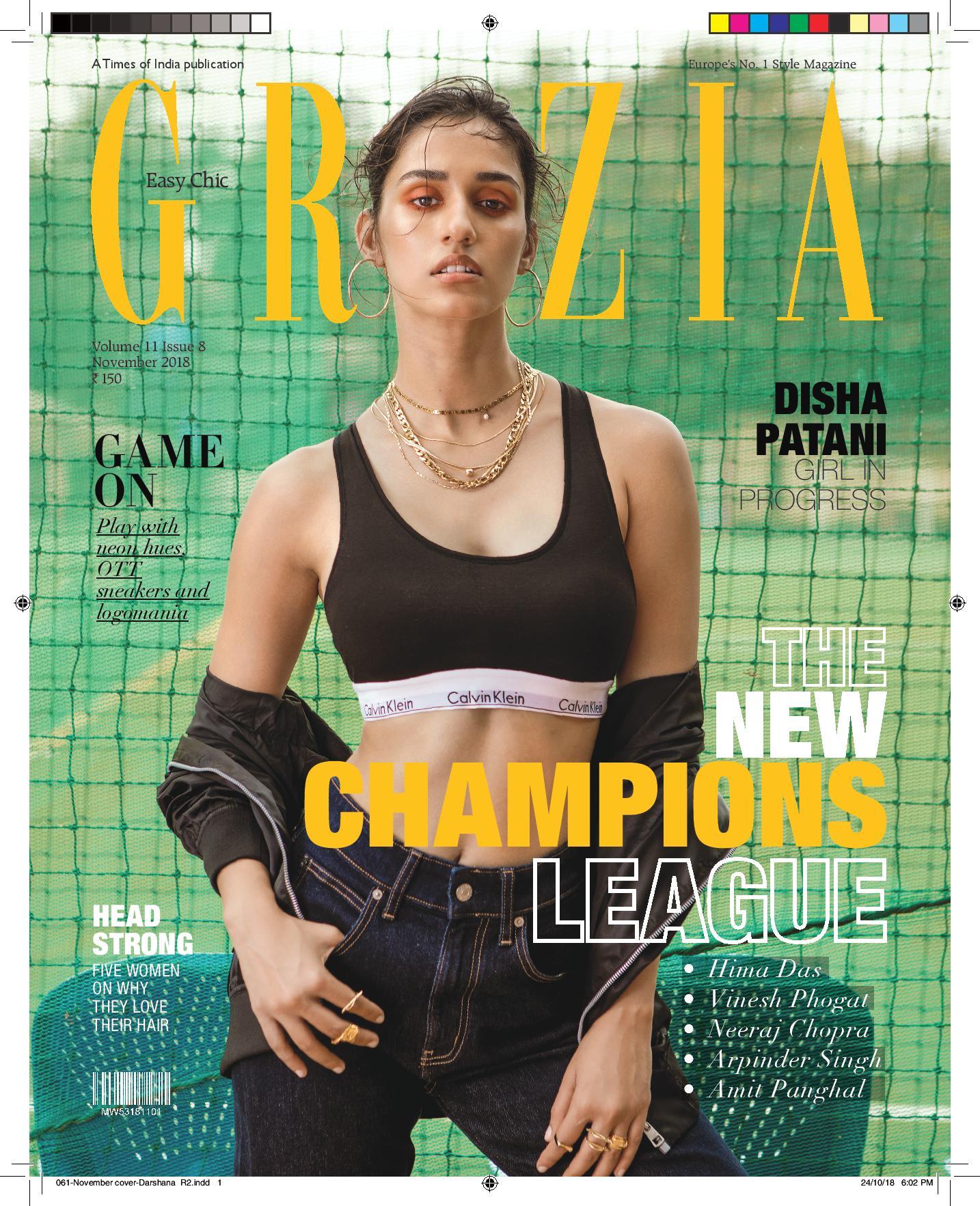 Grazia Cover _ Nov 2018