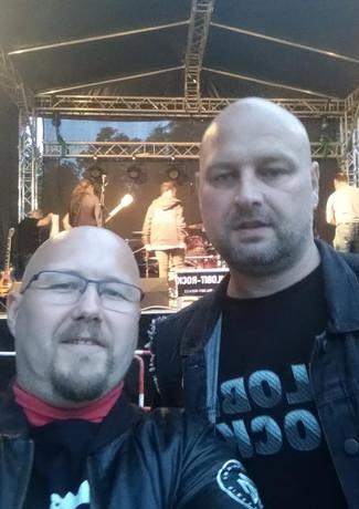 David (moc děkujeme za fotky!!) a Michal