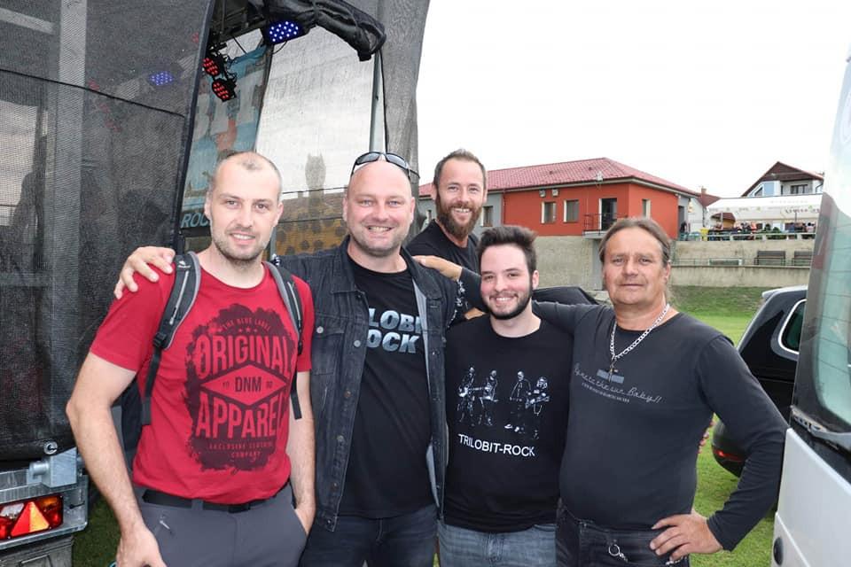 Martin, Michal, Luboš Jeremy a Bohouš