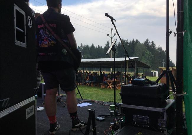 Pohled z pódia