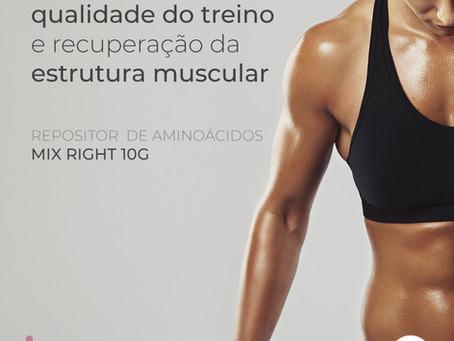 Repositor de aminoácidos garante maior desempenho nos treinos e no desenvolvimento muscular