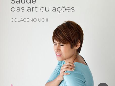 Colágeno tipo 02 é fundamental para a saúde das articulações e do tecido conjuntivo de todo o corpo