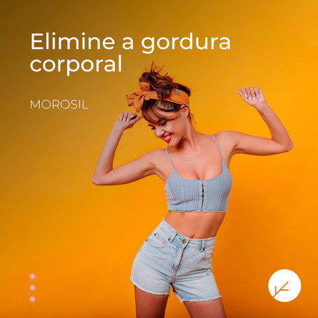 Morosil® 500mg: Redutor de gordura adiposa com ingredientes naturais