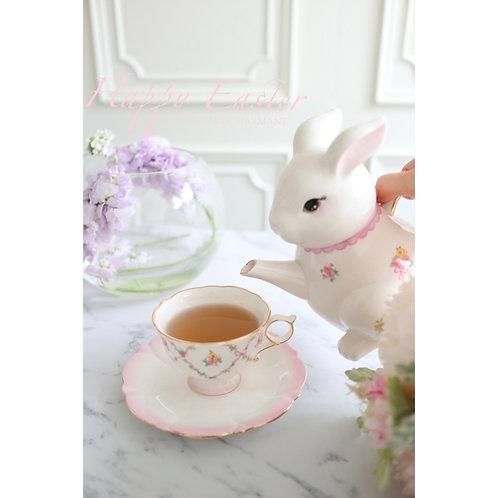 Rabbit Teapot with cup&saucer