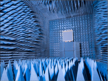 An Anechoic room is where no sound is reflected back from the surfaces. Inside the room one can easily hear the sound of their breath, lungs, heartbeat, stomach gurgling loudly and friction between the bones. After a while we start losing our balance as the lack of reverberation sabotages our spatial awareness.