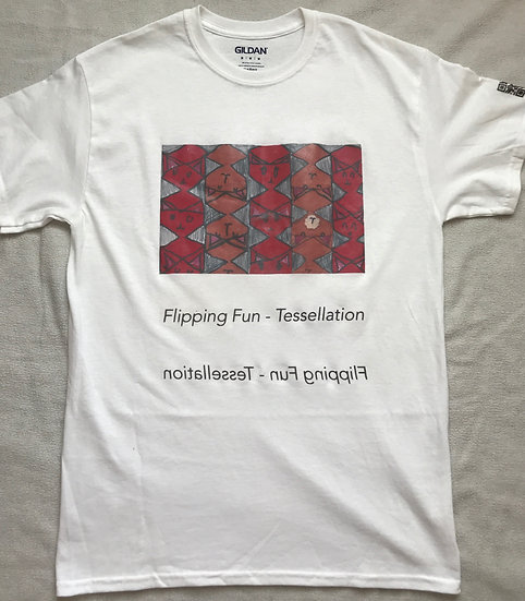 Flipping Fun - Tessellation T-shirt