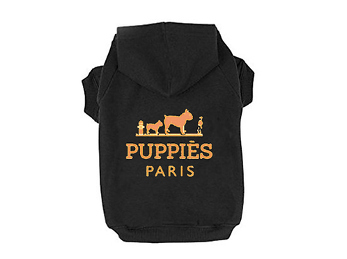 Puppies in Paris (Hoodie/Tank)