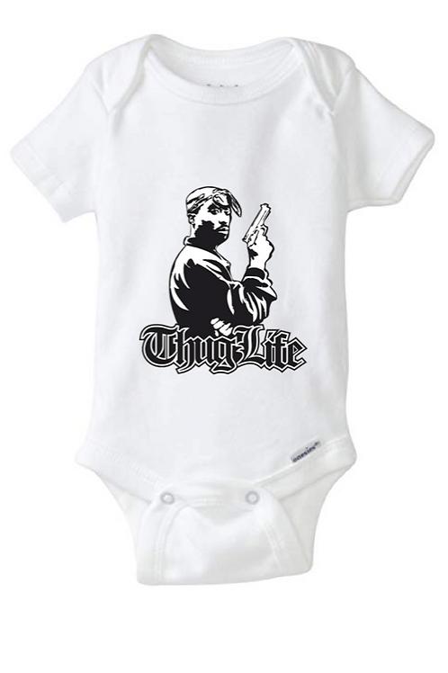 Thug Life Baby Onesie
