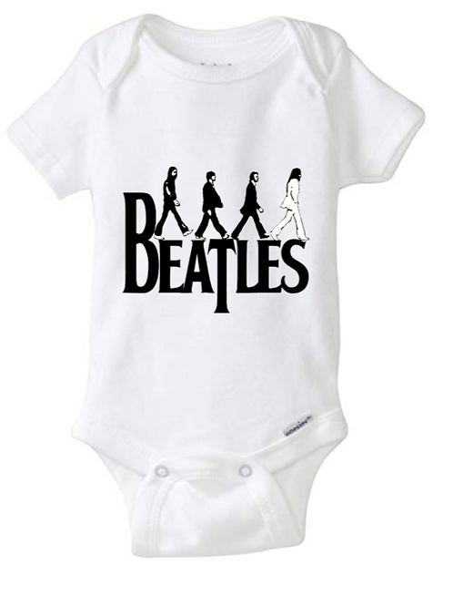 Beatles Baby Onesie