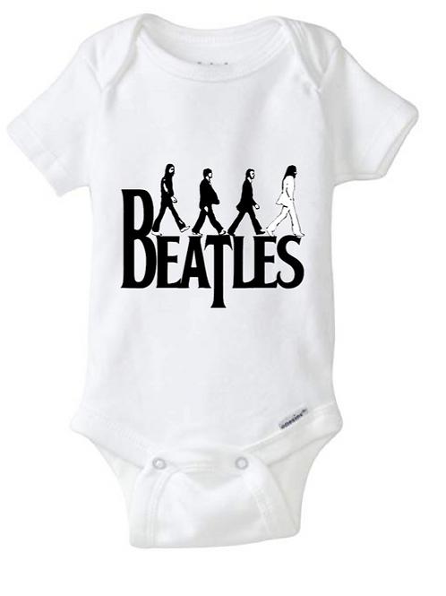 Beatles Baby Onesie