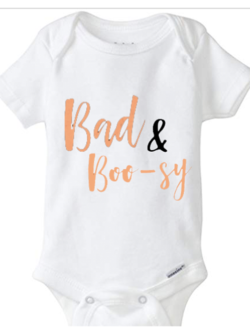 Bad & BOO-sy Baby Onesie