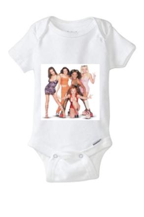 Spice Girls Baby Onesie