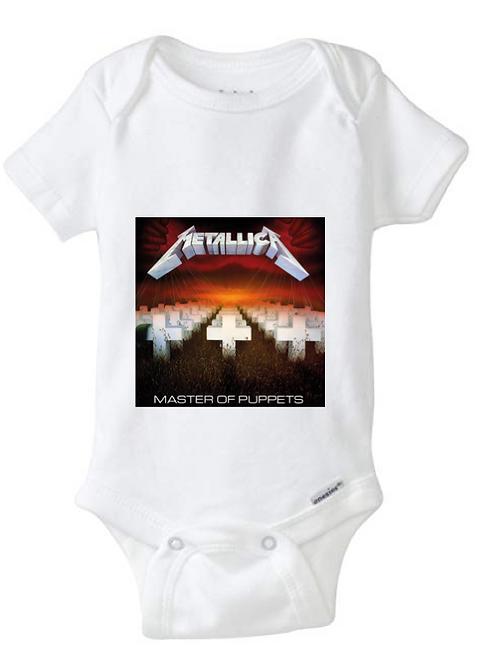 Metallica Baby Onesie