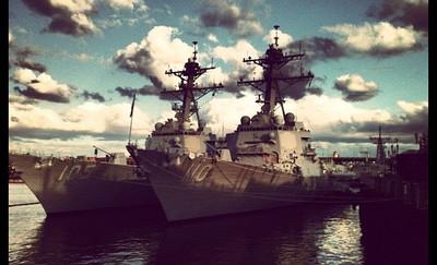 war boats