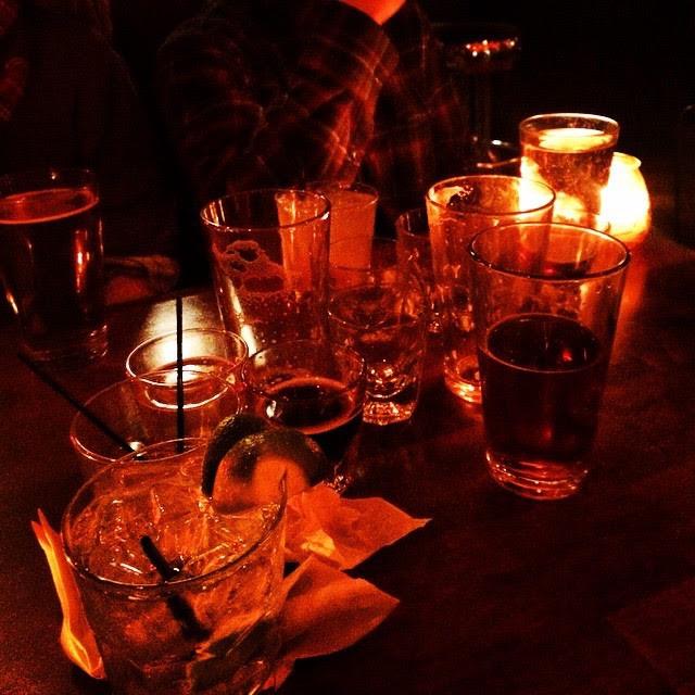 empty drinks