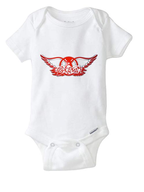 Aero Smith Baby Onesie