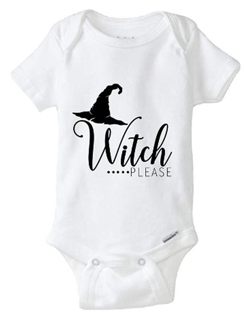Witch Please Baby Onesie