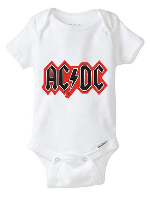 AC/DC Baby Onesie