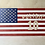 Thumbnail: WOODEN PULISIC SOCCER FLAG SIGN - large SOLD AS IS
