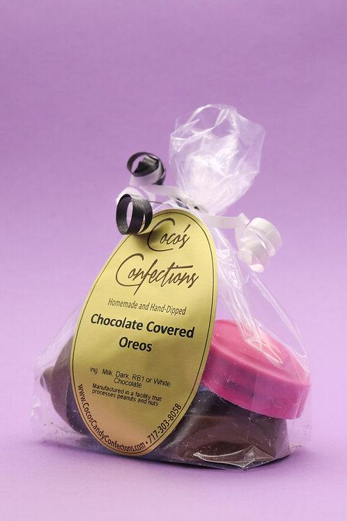 CHOCOLATE COVERED DOUBLE STUFFED OREO EMOJIS - mixed