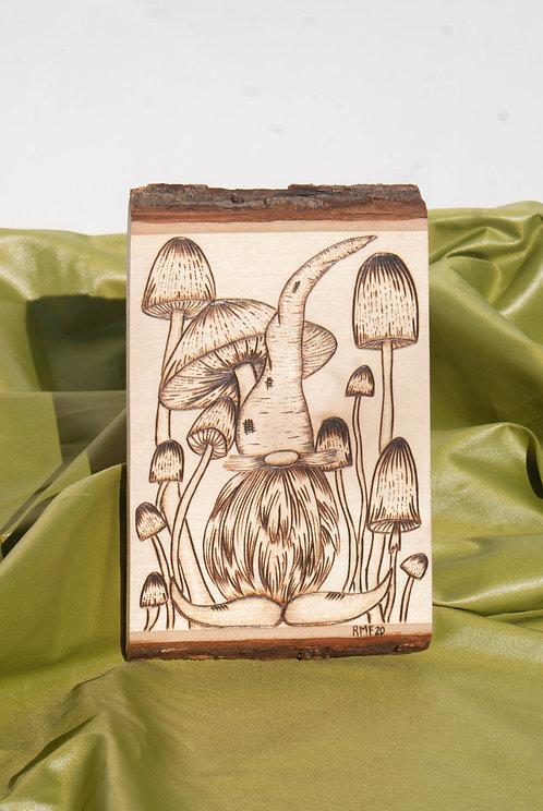 PYROGRAPHY ART - Gnomie Gnome