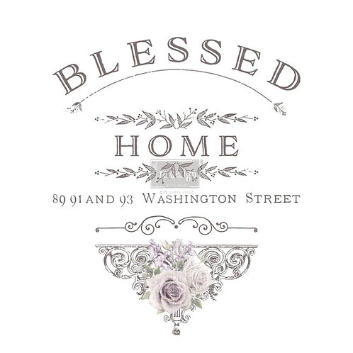 BLESSED HOME  22X30