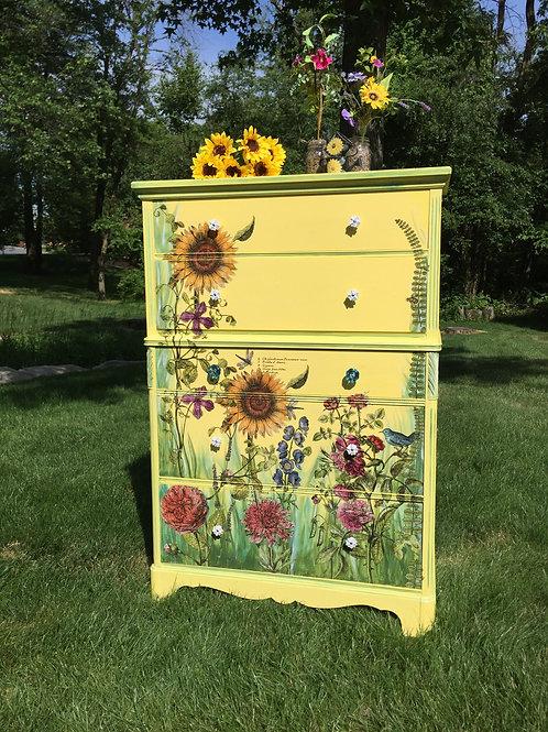Wildflower Chest