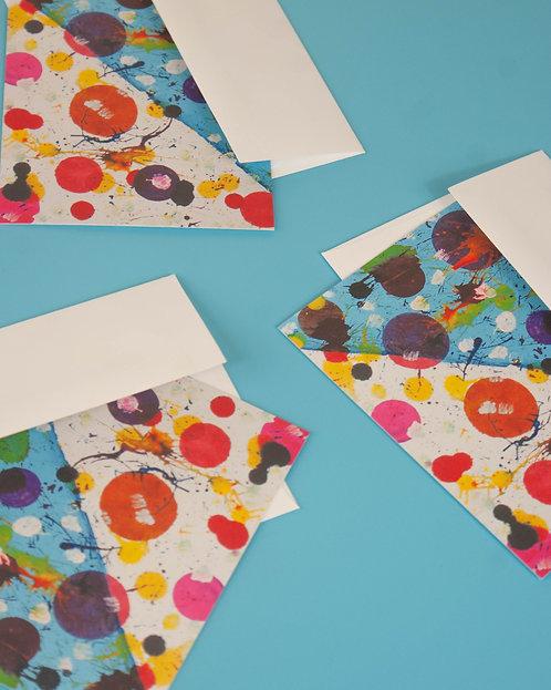"""""""BUBBLES"""" - postcards"""