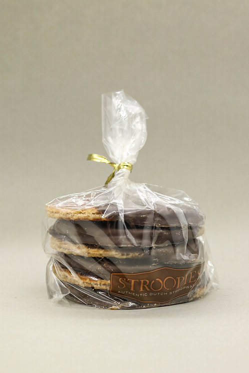 STROOPIES GIFT PACK - 6 Chocolate Dipped Stroopies