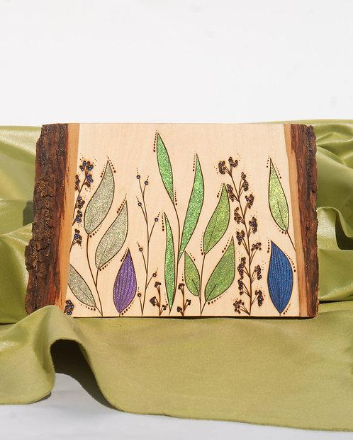 PYROGRAPHY ART - Simple Botanicals