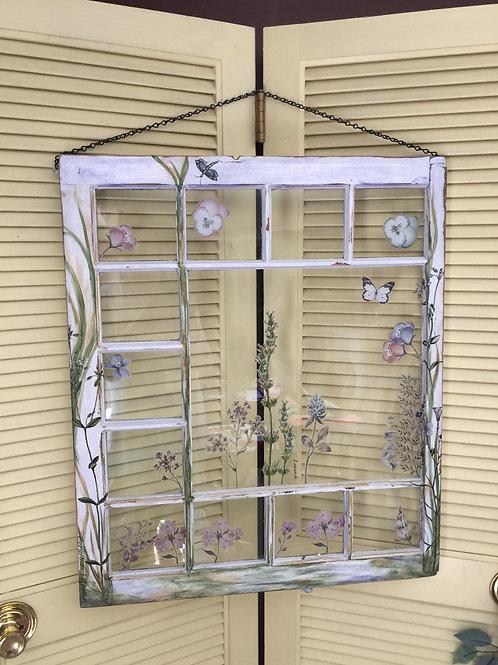 Delicate Fleur Window