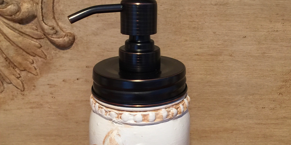 PUMP IT UP - DIY Mason Jar Soap Pump